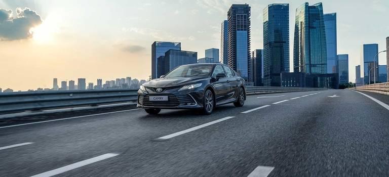 Обновленная Toyota Camry 2021