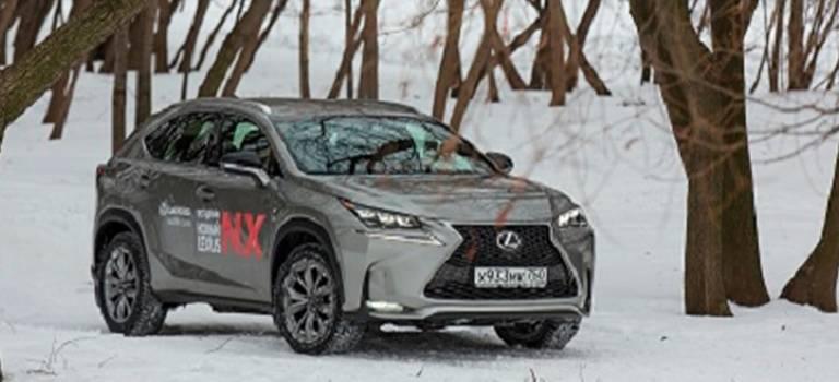 Тест-драйв LexusNX