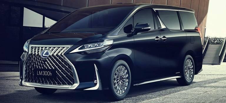 Минивэн Lexus LM— новинка люксового бренда