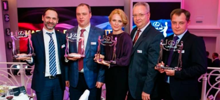 5 дилерских центровГК «БИЗНЕС КАР» получили «Награду президента» отпредставительства «Тойота Мотор»