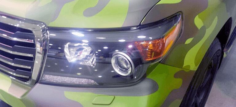 Винилография для автомобилей Toyota