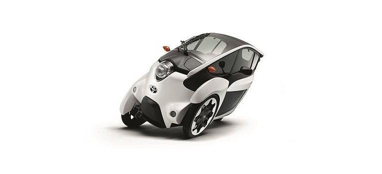 Toyota i-Road — трехколесный автомобиль будущего