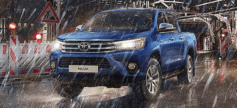 Восьмое поколение легендарного пикапа Toyota Hilux
