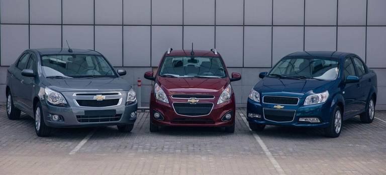 UzAuto объявил остарте продаж Chevrolet Spark, Nexia иCobalt вРоссии