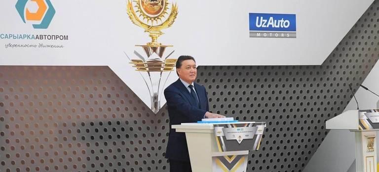 Главы правительств Казахстана иУзбекистана дали старт производству Chevrolet вРК