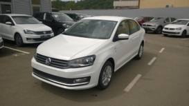 Volkswagen Polo 1.6 AT (110 л.с.) Highline