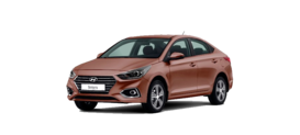 Hyundai SOLARIS 1.6 6AT (123 л.с.) 2WD Active Plus