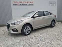 Hyundai SOLARIS 1.6 6MT (123 л.с.) 2WD Active Plus