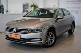 Volkswagen Passat 2018 г. (серый)