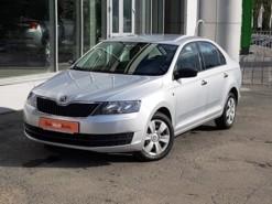 Škoda Rapid 2016 г. (серебряный)