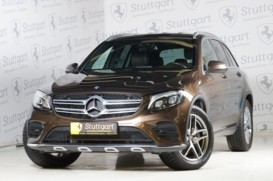Mercedes-Benz GLC 2016 г. (коричневый)