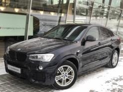 BMW X4 2015 г. (черный)
