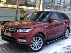 Land Rover Range Rover Sport 2013 г. (красный)