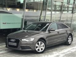 Audi A6 2012 г. (серый)