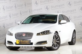 Jaguar XF 2014 г. (белый)