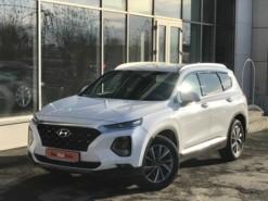 Hyundai Santa FE 2019 г. (белый)