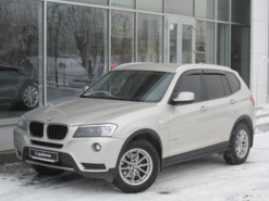 BMW X3 2011 г. (бежевый)