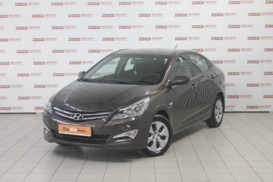 Hyundai Solaris 2014 г. (коричневый)