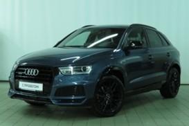 Audi Q3 2017 г. (синий)