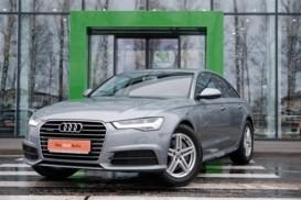Audi A6 2018 г. (серый)
