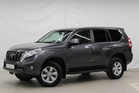 Toyota Land Cruiser Prado 2015 г. (серый)