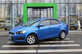 Chevrolet Aveo 2013 г. (синий)
