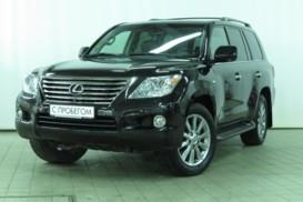 Lexus LX 2011 г. (черный)