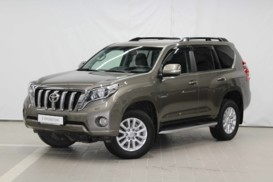 Toyota Land Cruiser Prado 2016 г. (коричневый)