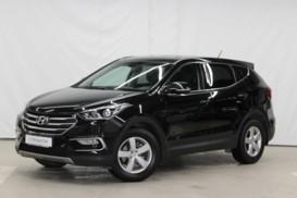 Hyundai Santa FE 2016 г. (черный)