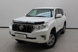 Toyota Land Cruiser Prado 2018 г. (белый)