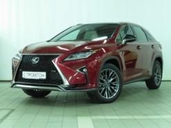 Lexus RX 2018 г. (красный)
