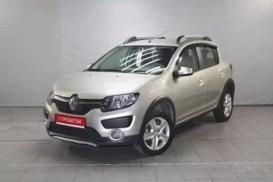 Renault Sandero 2018 г. (бежевый)