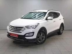Hyundai Santa FE 2013 г. (белый)