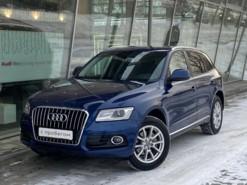 Audi Q5 2013 г. (синий)