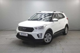 Hyundai Creta 2016 г. (белый)