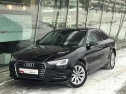 Audi A4 2016 г. (черный)