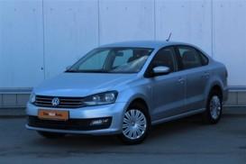 Volkswagen Polo 2017 г. (серебряный)