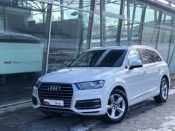 Audi Q7 2016 г. (белый)