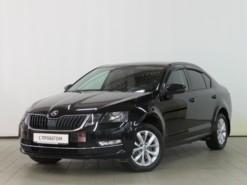 Škoda Octavia 2018 г. (черный)