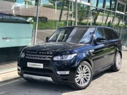 Land Rover Range Rover Sport 2016 г. (черный)