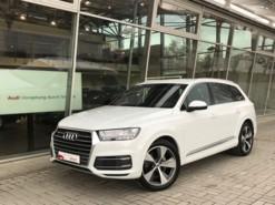 Audi Q7 2018 г. (белый)