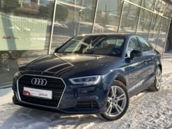 Audi A3 2018 г. (синий)