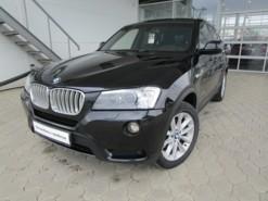 BMW X3 2012 г. (черный)