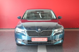 Škoda Superb 2016 г. (синий)