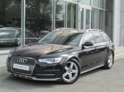 Audi A6 Allroad 2013 г. (черный)
