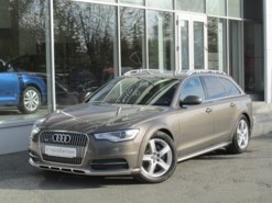 Audi A6 Allroad 2013 г. (коричневый)