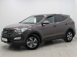 Hyundai Santa FE 2014 г. (коричневый)