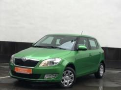 Škoda Fabia 2013 г. (зеленый)