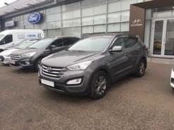 Hyundai Santa FE 2013 г. (серый)