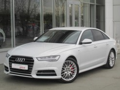 Audi A6 2016 г. (белый)